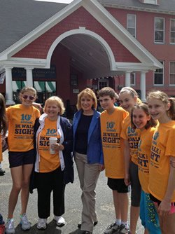 10th Annual 3K Walk for Sight a HUGE Success!