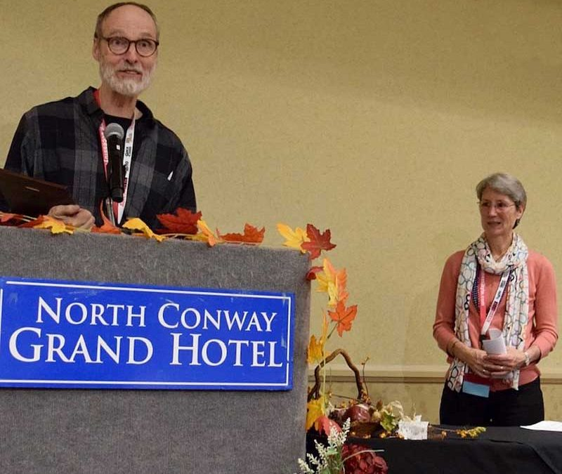 Jewett O'Connor Receives Award at NEAER Conference