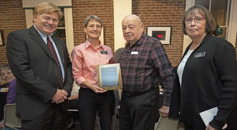 Longtime Client and Volunteer Receives Annual Service Award from Future In Sight