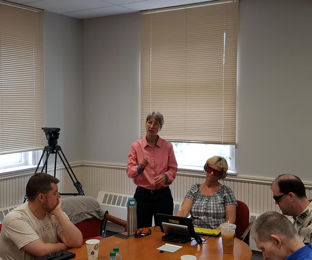 Visually Impaired N.H. Voters Get Training on Accessible Ballot System