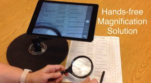Hands Free Magnifier