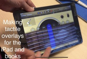 Tactile Overlays for Books & iPads
