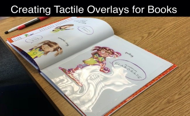 Tactile Overlay for books