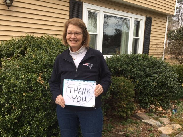 Cherie Senz Thanks the Volunteers of Future In Sight