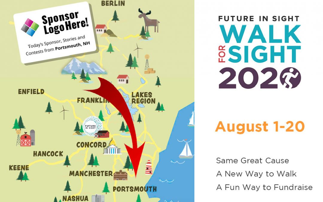 Walk for Sight 2020: August 1 – August 20