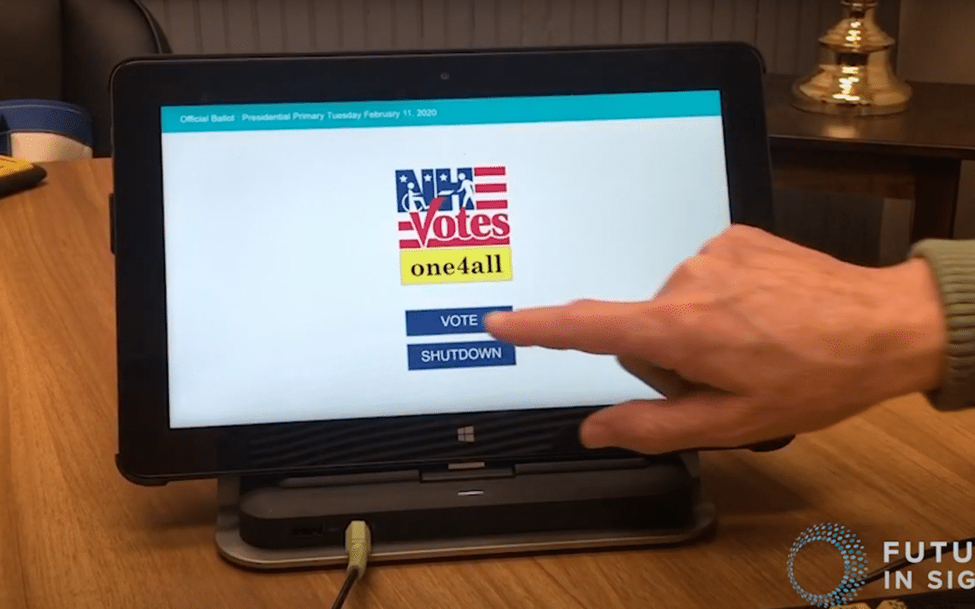 Accessible Voting Training Sessions with One4All