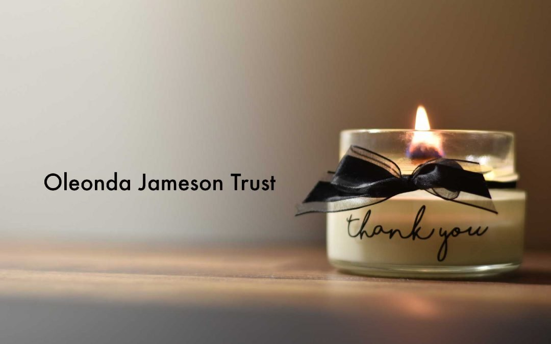 Future In Sight Receives Grant from the Oleonda Jameson Trust
