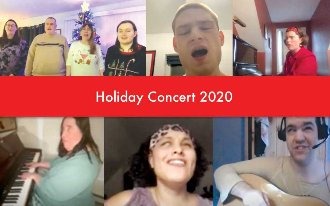 VIDEO: Mini Christmas Concert from Future In Sight Clients