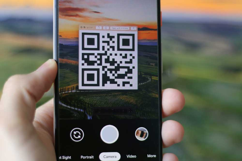 Using QR codes and NFC Stickers