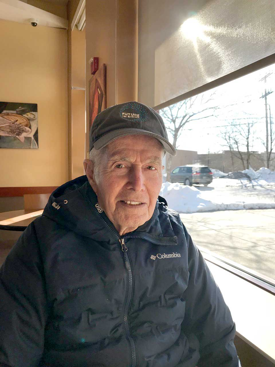 Cliff Smith has been a volunteer for Future In Sight for many years