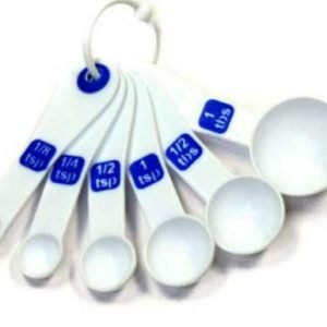 White-and-blue-measuring-spoons