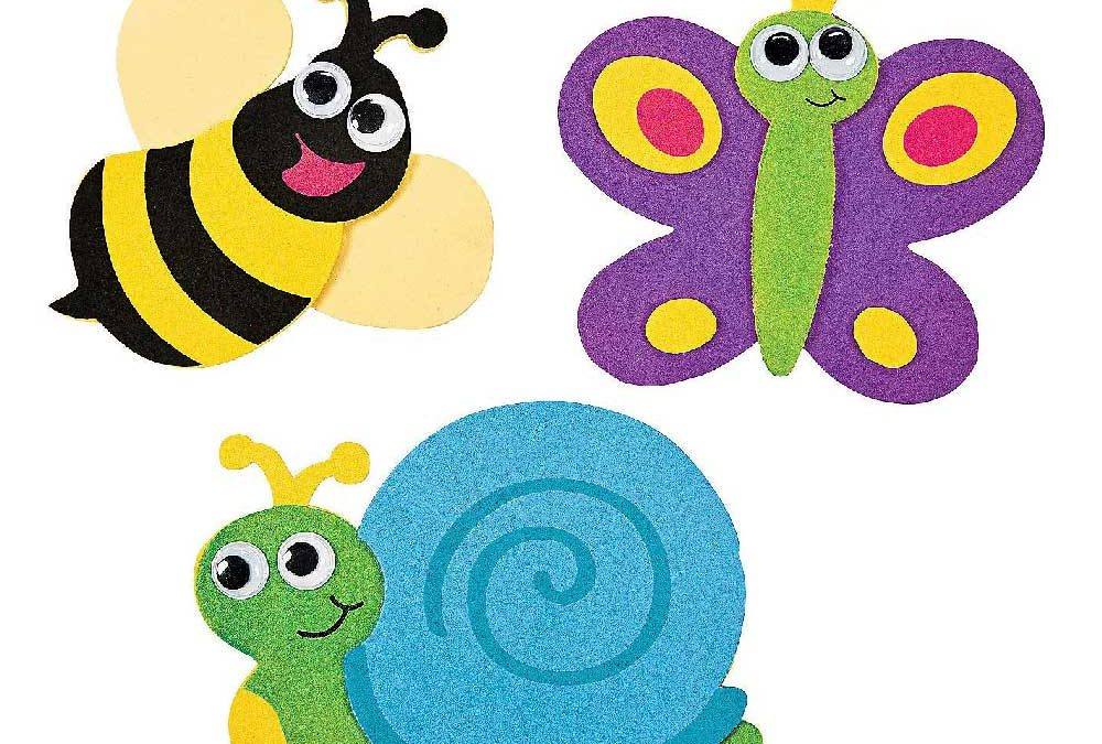 Colorful and cute animal magnets