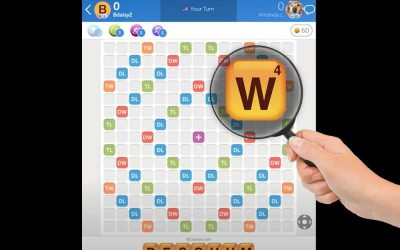 Words With Friends for Low Vision Users – Zoom Controls