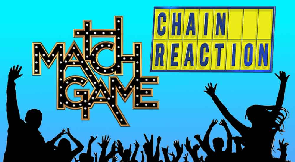 Match Game and Chain Reaction logos