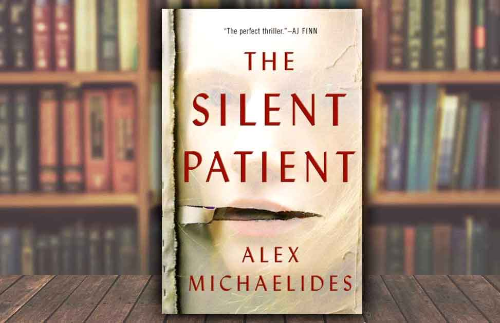 Book cover of the Silent Patient